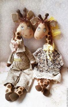Купить жирафы - бежевый, жираф, жирафик, жирафы, жирафа, игрушка ручной работы, игрушка в подарок