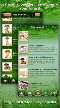Mushrooms: Great Encyclopedia of Fungi by AppGrade