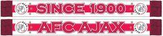 Ben jij een echte fan van Ajax? Dan kan deze sjaal echt niet ontbreken! Deze sjaal houd je lekker warm en je laat iedereen zien dat jij voor de mooie club Ajax Amsterdam staat!   Afmeting: volgt later.. - Sjaal ajax rood/wit since 1900