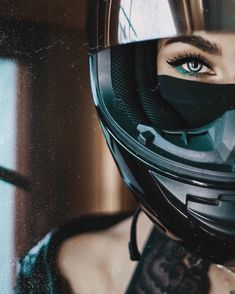 Horse Girl Photography, Motorcycle Photography, Lady Biker, Biker Girl, Girl Motorcyclist, Biker Photoshoot, Biker Couple, Bike Quotes, Girl Hiding Face