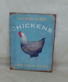 chicken sign! Must have/make/whatever!