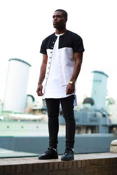 Macho Moda - Blog de Moda Masculina: Look Masculino Preto e Branco, em alta (Black and White). Camiseta Jersey, Nike Air Force 1 All Black