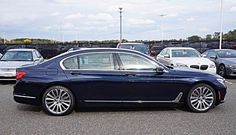 2016 BMW 7 Series in Imperial Blue