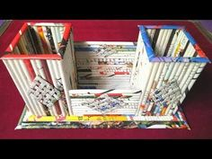 How to make a Newspaper Pen /Pencil Stand / Holder / Kitchen Organizer (Tutorial)Best out of waste | - YouTube