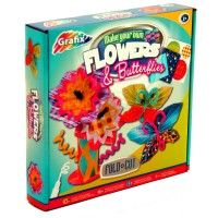 Make your own flower and butterfly models with this great kit from Grafix. Recommended Age: 3 years + www.kidswoodentoyshop.co.uk