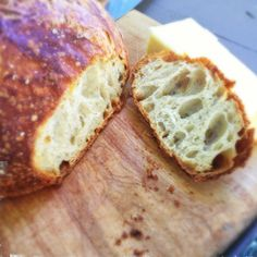 Beer Bread- made from trub, the left over yeast sediment from home brewing