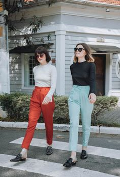 Twinning - Steal The Look Looks Style, Looks Cool, My Style, Look Fashion, Fashion Outfits, Fashion Design, Pantalon Cigarette, Hipster, Grunge