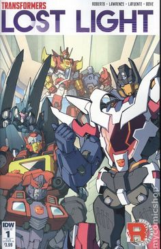 Transformers Lost Light (2016 IDW) 1SUBB Comics book covers Modern Age
