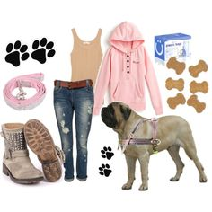 """""""Walking the dog"""" by pattzy on Polyvore"""