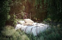 Lost Bed, created by M.B.S using 3dsmax and VRay.