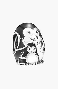 Free shipping and returns on PANDORA 'Penguin Family' Charm at Nordstrom.com. Polished sterling silver and smooth enamel form an adorable family of penguins, representing the sacred bond and devotion between parent and child in a lovely little charm.