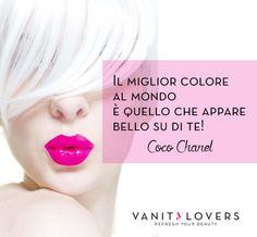 Quale è il colore che ti sta meglio? http://www.vanitylovers.com/?utm_source=pinterest.com&utm_medium=post&utm_content=vanity-home&utm_campaign=pin-vanity