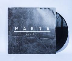 MARTA — warships LP by Maximilian Huber, via Behance