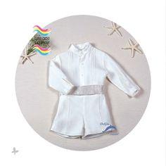 Conjunto de niño bebe bautizo ARTESANIA AMAYA modelo 97303 (BAJO PEDIDO)