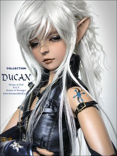 The BJD that got away. This one was limited release, only at a BJD show from Dream of Doll. This is the doll I am eternally in search for.