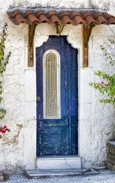Door - Greece by frankie