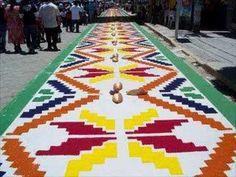 diseños de alfombras para semana santa - Buscar con Google