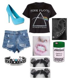 """"""""""" by melanie-martinez27 ❤ liked on Polyvore featuring Floyd, women's clothing, women, female, woman, misses and juniors"""