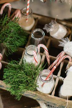 Marianne Lucille Photography |Winter Wedding Ideas | Vintage Milk Jars | S'Mores Favors | Wedding Pie | Salted Caramel Popcorn Favors | Kate Aspen Blog | Roundhouse Railroad Museum | Savannah Georgia