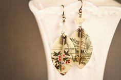 Arrow Earrings Drop Earrings Arrow Jewelry by MusingTreeStudios, $18.99