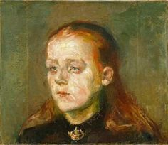 Edvard Munch, Betsy Nilsen, 1867. The National Museum of Art, Architecture and Design.