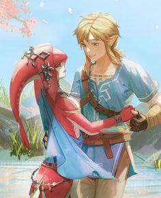 The Legend Of Zelda, Legend Of Zelda Memes, Legend Of Zelda Breath, Mipha And Link, Link And Midna, Link Zelda, Twilight Princess, Princess Zelda, Botw Zelda