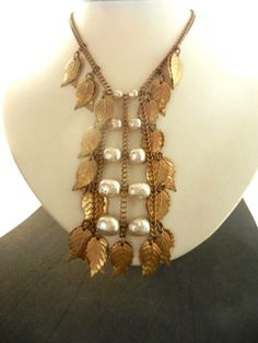 Antique Miriam Haskell signed baroque pearls and by RAKcreations