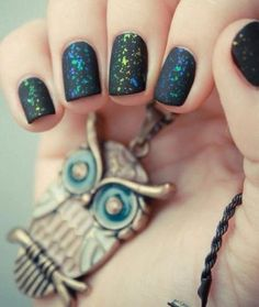 Galaxy Nails! Join http://bellashoot.com for all things beauty or click image.