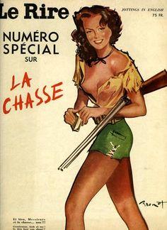 Le Rire. Numéro spécial sur la chasse. 1949