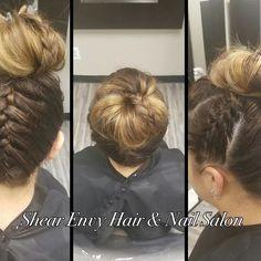 Top 100 hairstyles with braids photos Weekend hairdo🙋🏼 #easyas123 #beachhair #casualhair #braids #braidedhair #braided #lovebraids #love #hairstyle #braistyles #hairbun #summerstyle #summerhair #balayage #hairstyleswithbraids. ❤️ See more wumann.com/...