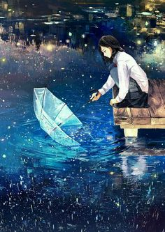 Gathering stars in the river of tears