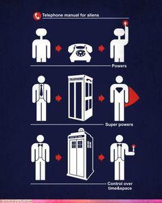 Telephone + alien = power