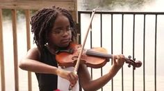 """Leah Flynn - The Star Spangled Banner; Leah Flynn plays our national anthem, """"The Star Spangled Banner"""", on her violin. See more of this young violinist #from_LeahFlynnViolinist"""