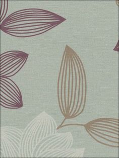 wallpaperstogo.com WTG-092390 Blue Mountain Contemporary Wallpaper