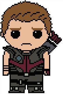 Looking for your next project? You're going to love Marvel: Hawkeye (Clint Barton) by designer Shylah Addante.