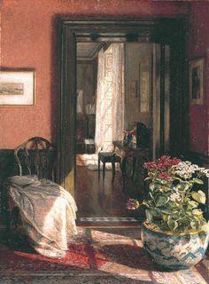 A Bit of Sunlight - MARY HAYLLAR (1863-c.1950)
