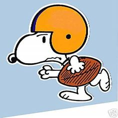 Football Snoopy