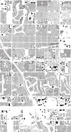 A Map of Every Building in America - The New York Times Data Patterns, Landscape Planner, Generative Art, Interactive Map, Automata, Minneapolis, Minnesota, Maps, Architecture Design