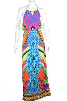 Calypso Maxi Dress - Multi