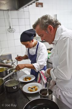 Chef Alain Passard at L'Arpege   Photo by Joe Ray for Centurion Magazine
