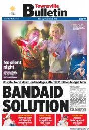 Townsville Bulletin 3-12-2012 Australia