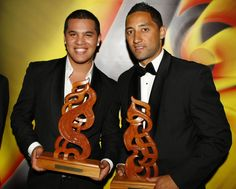 Maori Sports Awards Stan Walker & Benji Marshall. HOD Makeup Moari TV. Hairstylist & Makeup Artist North Shore, Auckland, NZ www.mediamakeup1.com