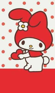 Red.My Melody.