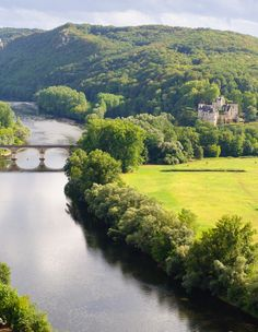 Dordogne France, see the surrounding with a canoe  Breathtaking!