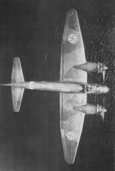 Finnish German production bomber Junkers Ju-88 (Ju.88A) in flight over the water.