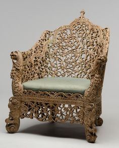 Anglo Indian, Armchair, c. 1860s on Paddle8