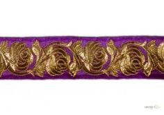 This Plain Embroidery Trim ( Plain Embroidery Trim ) comes with Plain decoration widely used by Apparel & Clothing Industry