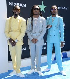 Fashion hits and misses from the 2019 BET Awards Suit Fashion, 70s Fashion, Visual Literacy, Boy Celebrities, Bet Awards, Bad And Boujee, Leather Harness, Red Carpet Looks, Outfits