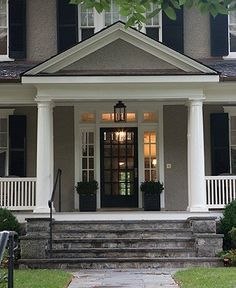 Black And Gray Exterior House In Lakeside Grey Siding House On Pinterest Gray Siding Vinyl Siding And White
