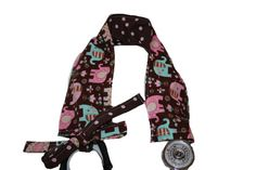 Stethoscope Cover Reversible Diva Style by ScrumptiousScrubHatz, $10.99